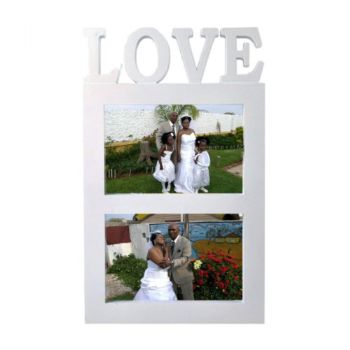 Love Plastic Photo Frame 10X15cm